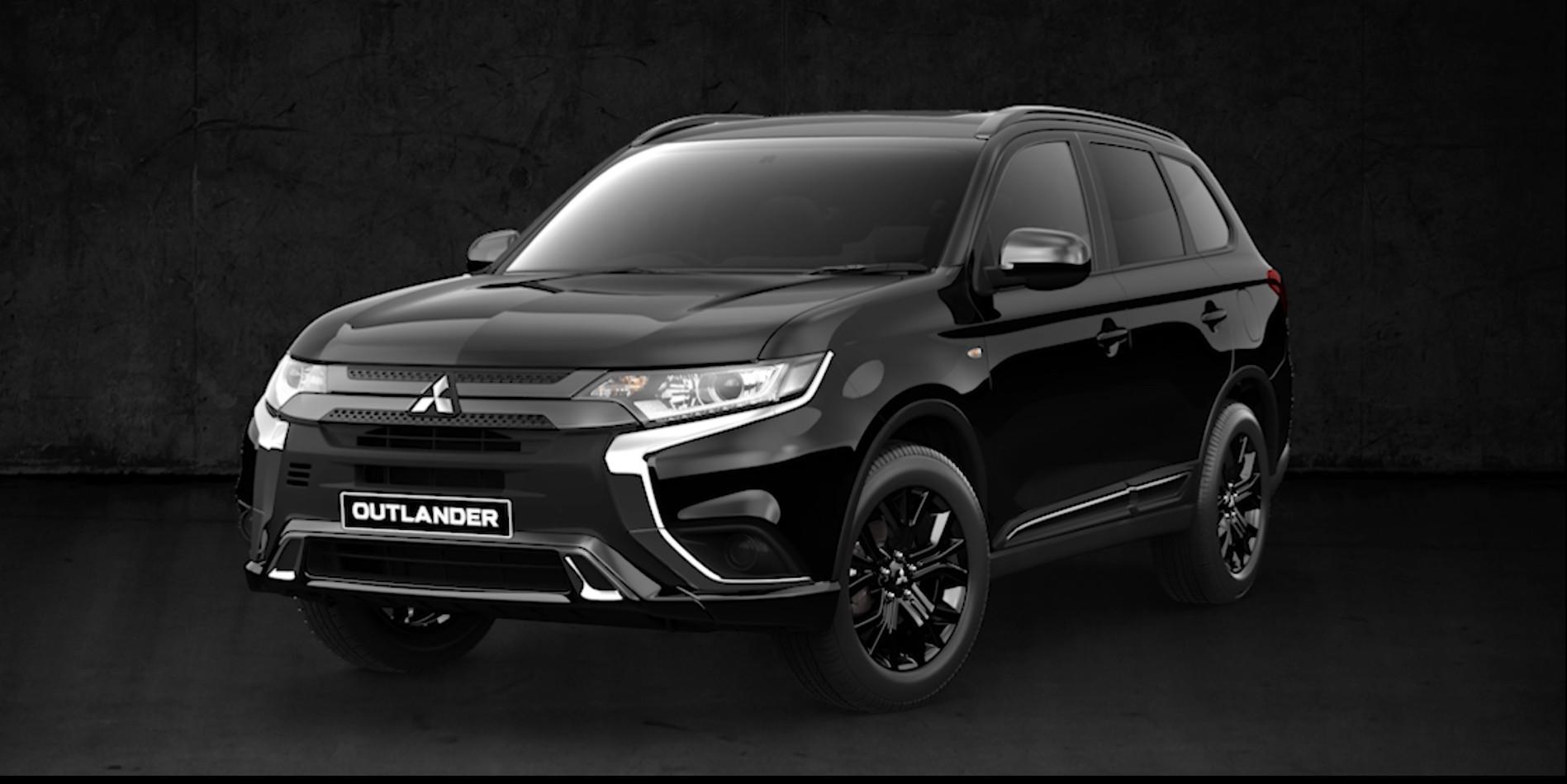 outlander black edition | suvs for sale | mitsubishi motors new
