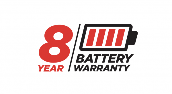 8 year battery warranty